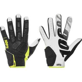100% Simi Gloves black/lime